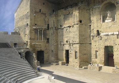 The Antique Theatre of Orange (20 Km):
